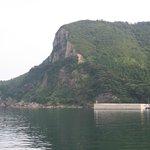 明屋漁港の断崖岬