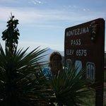 Montezumas pas elevation