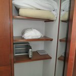 3 closets and electronic safe in Full Suite