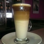 """Always a """"posh"""" Latte at I'll Sorriso. If in town always pop in for the best Coffees and the pri"""