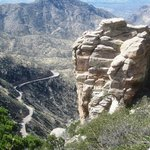 View along the Mt Lemmon Byway