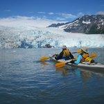 an afternoon at Aialik Glacier