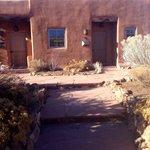 Pueblo suite #42 is corner unit.