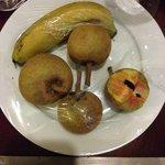 complimentary fresh fruit