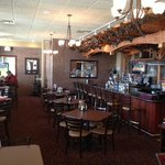 Ciccino's bar and front dining area
