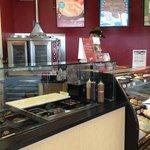 TCBY Ice cream counter
