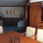 Dubai suite living area