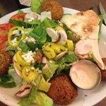 Sinbad's filafel salad