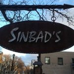 Sinbad's street sign