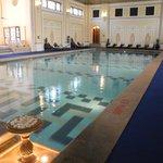 Taj Rambagh's inside pool