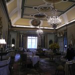 Opulent dining ...
