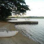 Lagoon front