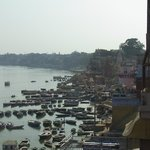 Ghats and the river
