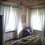 La camera coi bellissimi soffitti