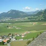 Vista desde El Castillo de la Gruyere