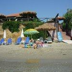 Пляж в Агиос Состис