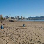 Poniente Beach looking towards Levante