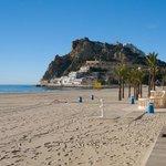 Poniente Beach looking towards La Cala