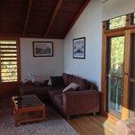 Upstairs living area, lorikeet treetop house