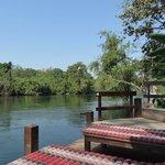 Genieten aan de river Kwai op het Oriental Kwai Resort