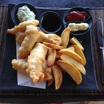 Fish & Chips Lunch at Quali