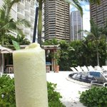 Coconut Mojito at the adult pool at The Modern