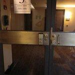 共有部分(廊下)への入口