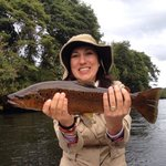 My wifes first fly fishing!!!! Thanks Jack