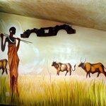Mural apartamento Mitológico