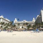 hotel vanaf het strand