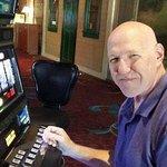 Playing the slots at Buffalo Bill's