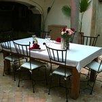 Dar Rocmarra Courtyard Dining