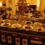 La cucina a buffet