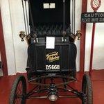 A true vintage car