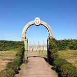 Fort Caroline replication entrance gate