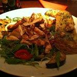 mmm salad romeo with chicken