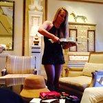 Официантки наименее старые по сравнению с другими отелями-казино.
