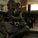 Ganesha adorning the lobby