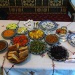 Ronde des salades marocaines