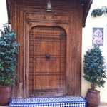 La porte d'entrée extérieure