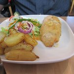 Chicken Kiev.. amazing