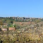Frances Lodge Siena East Hills overlooking Siena