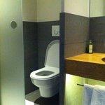"""Modern bathroom in """"Zirbe"""" rooms"""