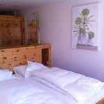 Bed in Zirbe Room