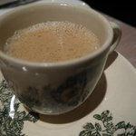 white coffee at Breakfast
