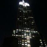 Vista del Empire State Building desde nuestra habitación