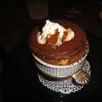 best desert! chocolate soufflé!