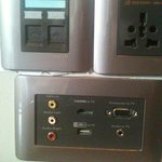 Grand Luxe King data ports
