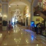 Indgangen i hotellet