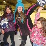 Cheerleaders for Porcupine Gold Kings Pee Wees-2014
